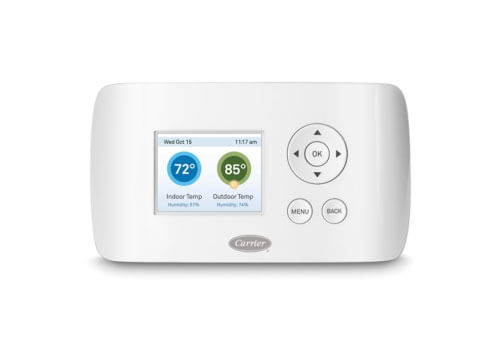 Carrier Thermostats Wi-Fi Remote Access Capability
