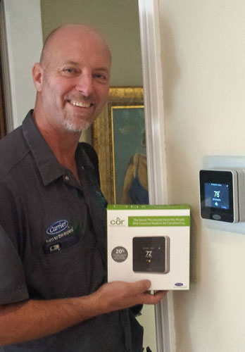 Carrier Thermostat Sales & Installation in Orange, CA